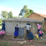 The Water Project: Bulukhombe Primary School -  Posing At The Water Point