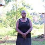The Water Project: Mukhangu Community, Okumu Spring -  Ms Felistus Shimwati