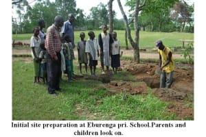 The Water Project: Eburenga School Well -