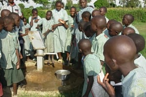 The Water Project: Osika School Well -