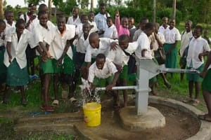 The Water Project: Simbi School Well -