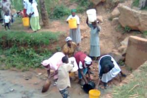 The Water Project: Shiambula Community Well -