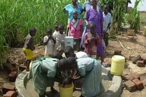 The Water Project: Ebuhayi Nursery School Well -