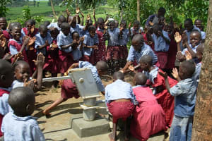 The Water Project: Esumeyia Primary School Well -