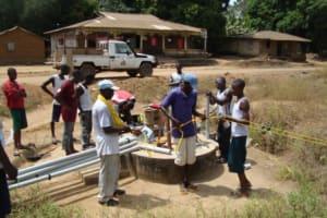 The Water Project: Lungi, Mayaya Well Rehabilitation -
