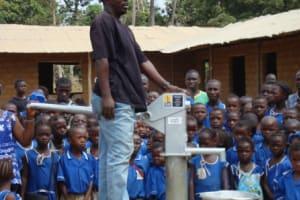 The Water Project: SLMB Primary School, Tombo Bana Well Rehabilitation -