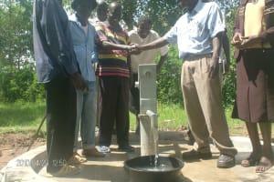 The Water Project: Kanyangwena Primary School - Kenya -