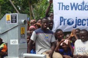 The Water Project: Airport Ferry Rd. Well Rehab -