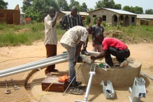 The Water Project: New Miracle Praise School Well Repair Project -