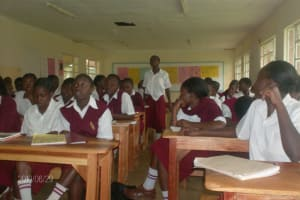 The Water Project: Butere Girls High School -
