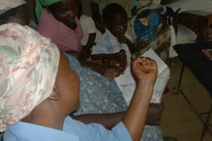 The Water Project: Msamaria Womens Group Well Project -