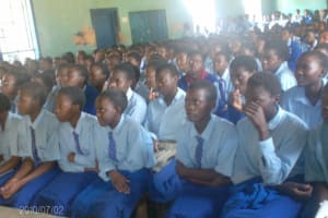 The Water Project: St. Mary's Mumias Girls School Well -