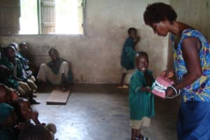 The Water Project: Yams Farm Primary School Well Rehabilitation Project -