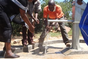 The Water Project: Hirumbi Primary School Well -