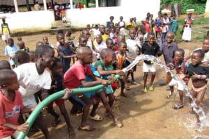 The Water Project: Makeni Marketplace Well Rehabilitation -