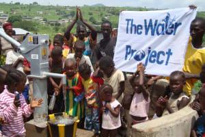 The Water Project: Yams Farm Well Rehabilitation Project -