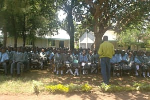 The Water Project: St. Paul's Emulakah Secondary School Well -