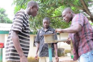 The Water Project: Kamara Street Well Rehabilitation -