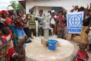 The Water Project: Sheki Town Well Repair -