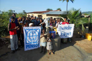 The Water Project: Kissi Town Well Rehabilitation Project -