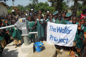 The Water Project: DEC Primary School Well Rehabilitation -