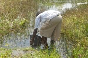The Water Project: Komkanda Memorial Secondary School Well Rehabilitation -
