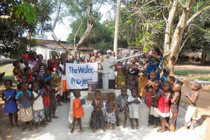 The Water Project: Lungi - Yongoroo - 32 Gbanty Rd -