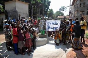 The Water Project: Lungi, Mahera - Rotifunk Road Well Rehabilitation -