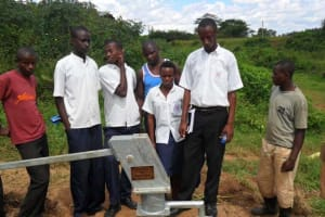 The Water Project: Group Scolaire Gahini Secondary School -