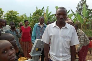 The Water Project: Kayonza Village and School -