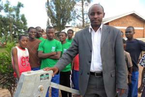 The Water Project: Nyamirama Secondary School Well -