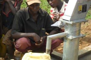 The Water Project: Gakiri Community Well -
