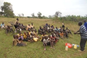 The Water Project: Ruhuha Community Well -