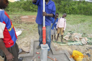 The Water Project: Ngarama Community Well -