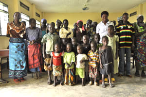 The Water Project: Lomura Community Well -