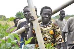 The Water Project: Joom Village Well -
