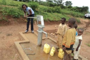 The Water Project: Kiziguru Secondary School Well -