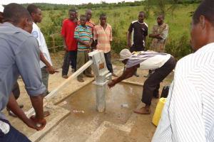 The Water Project: Karangazi Community Well -