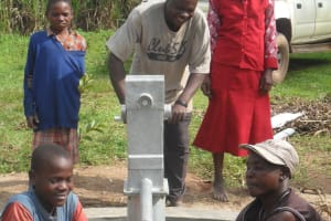 The Water Project: Emayungu Community Well -
