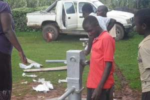 The Water Project: Wambenge Community Well -