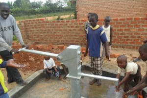 The Water Project: Sabata Primary School -