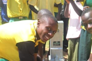 The Water Project: St Veronica Weonia Primary School -