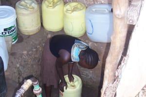 The Water Project: Mnazi- Moja Community Water Kiosk Two -