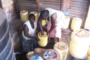The Water Project: Mnazi- Moja Community Water Kiosk One -
