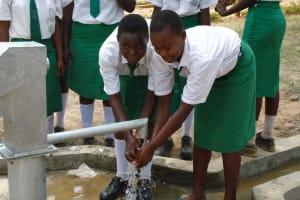The Water Project: Igunga Girls Secondary School -