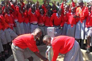 The Water Project: Bishop Muge Memorial Primary School -