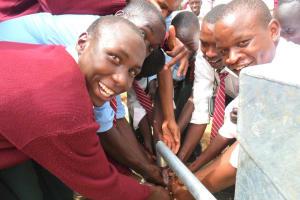 The Water Project: AIC Chepkemel Secondary School -
