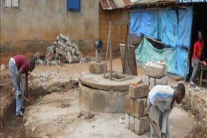 The Water Project: Lungi, Kitonki Well Rehabilitation -
