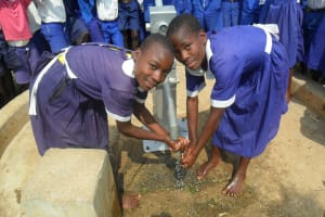 The Water Project: Mung'ang'a Primary School Water Project -