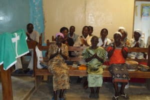 The Water Project: St Andrews A.C.K Eshikalame Parish Water Project -